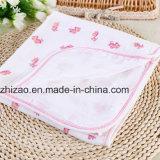 La gasa 100% del algodón de la alta calidad Swaddle las mantas del bebé