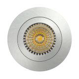 Свет алюминия GU10 MR16 круглый фикчированный утопленный СИД Spto Lathe вниз (LT2102)