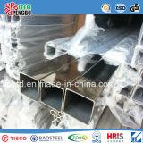 Tubo de acero galvanizado de 40 * 40 mm de peso ligero