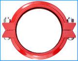La fonte ductile réduisant rainuré Accouplement flexible homologué UL