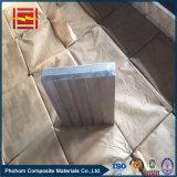 Bloco folheado de aço de alumínio da soldadura explosiva/junções da transição/barra elétricas do gancho para o alumínio da electrólise