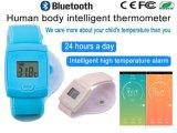 Temperatura corporea astuta di video in tempo reale di APP del telefono di temperatura del braccialetto di Bluetooth del termometro del termometro astuto del bambino