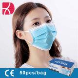 Overheid Witte lijst goedgekeurd niet-oven Blauw gezicht Mask 3 Lus voor het laags oor