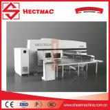Tipo servo proceso de la punzonadora de la torreta del CNC del metal de hoja/de los componentes eléctricos de la máquina del sacador del CNC