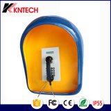 Teléfono de emergencia Identificador de llamadas Knzd-05LCD Kntech