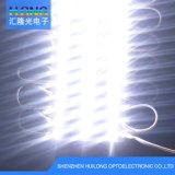 luminosité du module Ce/RoHS de 3LED SMD 2835 DEL intense imperméable à l'eau