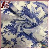 Tela transparente do algodão da seda 70% da cópia 30% do teste padrão da porcelana