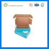 Verpakking de Van uitstekende kwaliteit van de Doos van het GolfKarton van China (afgedrukte het embleem van de Douane)