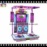 E-Batterista di lusso della macchina del gioco della galleria per il gioco del gioco di musica