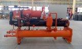 500kw kundenspezifischer hohe Leistungsfähigkeit Industria wassergekühlter Schrauben-Kühler für HVAC