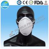 Maschera a gettare blu/verde/bianca del Nonwoven 3-Ply di protezione con Earloop