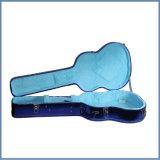 고품질 악기 두 배 Gitar 케이스, 싼 광택 있는 파란 색깔 기타 상자 중국 사람 공급자