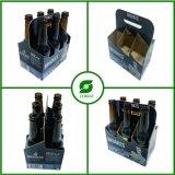 Caja de cartón de embalaje para 330ml botella de cerveza seis