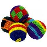 Sacco a foglie rampanti Hand Knitted di manipolazione di Hacky della sfera per i capretti