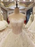 Vestidos de casamento de cristal da união superior nova da venda da chegada 2017