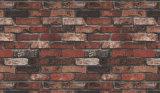 China Precio Decoración para el hogar Piedra de papel de pared 3D con 1.06m ancho de ancho
