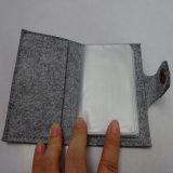 Cahier chaud de ventes avec cahier promotionnel de couverture de feutre le mini
