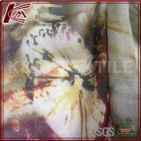 Reines Silk Georgette gedrucktes rohes Silk Georgette-Gewebe Ggt