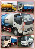 125HP 하수 오물 진공 흡입 트럭 정화조 양수 트럭