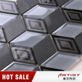 Azulejos de mosaico de mármol de la porcelana del color gris de la fábrica de China
