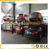 Elevador de estacionamento de quatro postos de venda de fábrica