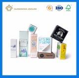 De Producten die van de Room van de Zorg van de huid Doos verpakken (met embleemfolie in gouden of zilveren)