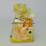Customzied Impresso BOPP Square Bottomed Gusset Bread Cellophane Candy Bags