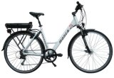 """Senhora sem escova E Bicicleta """"trotinette"""" de Ebike da cidade do motor da bicicleta elétrica da engrenagem da velocidade de Shimano do melhor vendedor"""