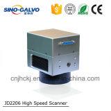 Grande testa della marcatura del laser dello scanner dell'apertura Jd2206A del fascio di qualità 10mm di vendita calda