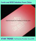 Belüftung-Karte mit UVbeschichtung für Geschäft