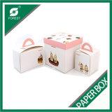 Профессиональные стандартные Handmade бумажные коробки для упаковывать торта