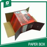 Flacher verpackender steifer gewölbter Karton-Kasten mit Drucken