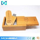 会社のギフト木USBの棒タケUSBのフラッシュ駆動機構