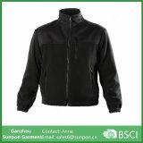 Revestimento uniforme confortável Fleece Casaco Jaqueta masculina