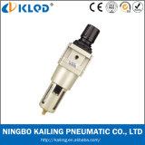 Aw Reeks Regelgever Aw3000-02 van de Filter van de Lucht van het Type van 1/4 Duim de Modulaire Pneumatische
