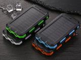 Feux de 9000mAh Camping étanche portable mobile solaire charger la batterie d'alimentation