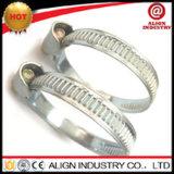 電流を通されたクランプ調節可能なドイツのタイプ電流を通された鋼鉄ねじホース留め金