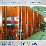 Courroie transporteuse en acier Presse hydraulique en caoutchouc pour 1200 * 10000mm