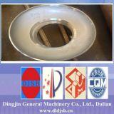 Cabeça elíptica do prato do tanque de armazenamento do aço inoxidável