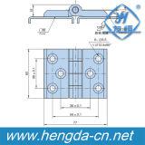Yh9443ステンレス鋼の産業ドアヒンジ