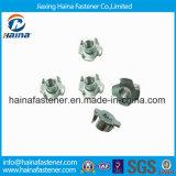 DIN1624 noix galvanisée de griffes de l'acier inoxydable quatre