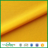 Poliéster Tricot Mesh Apparel Sportswear Jersey Material Tecido