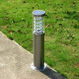 Garantie de 5 ans Certificat ISO Lumière de jardin solaire LED avec poteau durable.