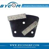 Ботинок конкретного пола диаманта металла 2 головок меля для машины Husqvarna/HTC/Lavina/Werkmaster