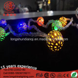 LED Warm White 100LEDs Ball String Light para Holiday Outdoor Decoration