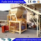 Vollautomatischer hydraulischer Lehm Lego Block, der Maschine in Uz herstellt