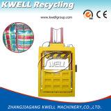 Tessile, vestiti, lane, pressa per balle della pressa di Hudraulic del cotone, macchina d'imballaggio verticale
