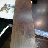 Plancher en bois conçu laqué UV de noix