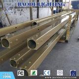 el 12m con el alumbrado público de acero galvanizado brazo poste (BDP12)