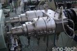 Machine électrique de fabrication de pipe de conduit de PVC de plastique flexible
